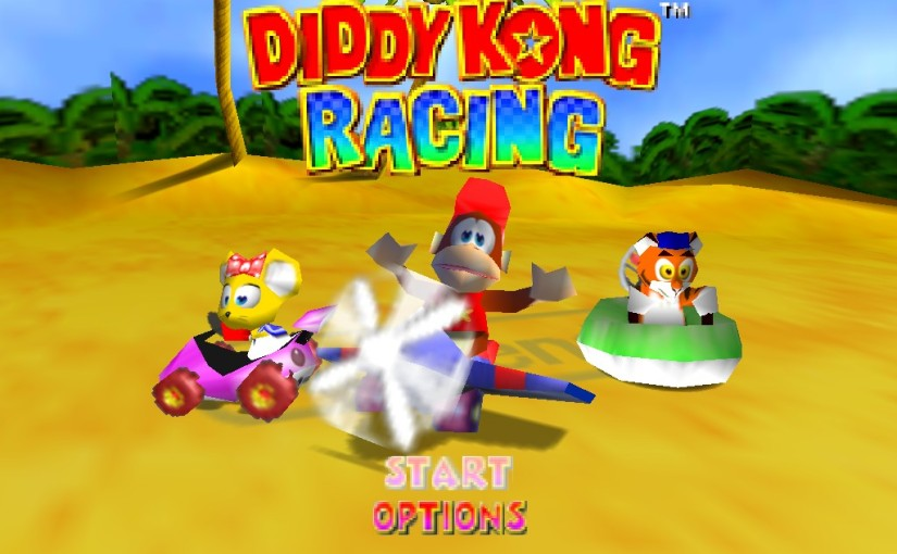 Throwback Tuesday: Diddy Kong Racing