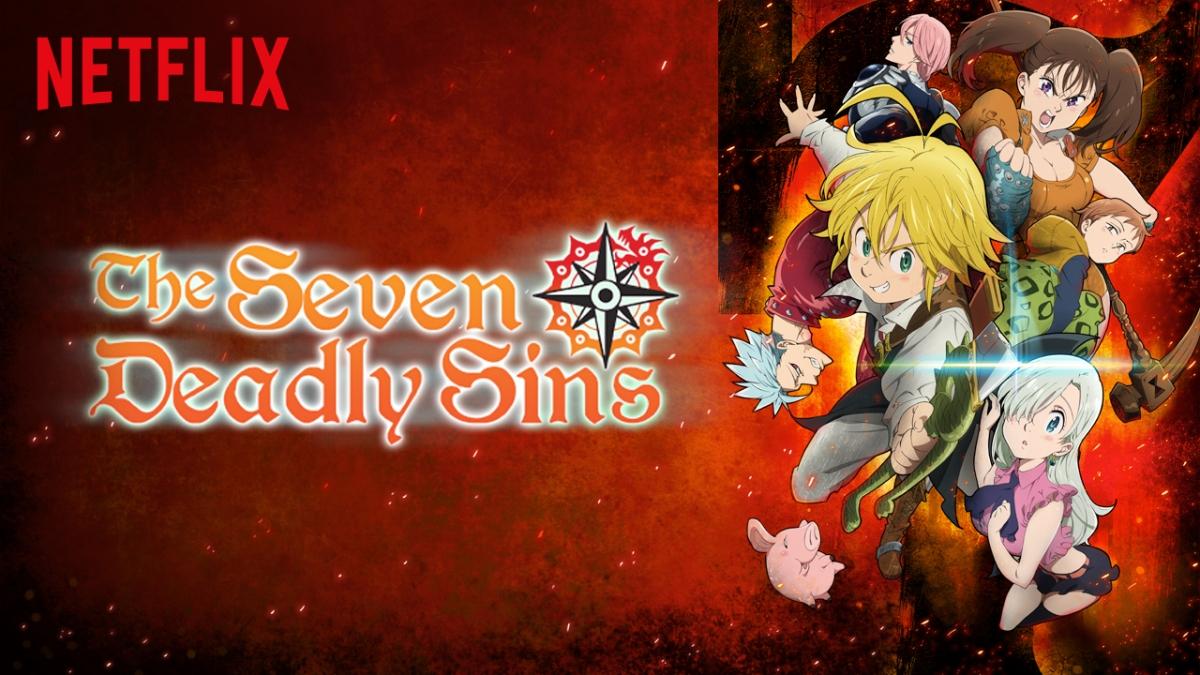 Netflix Series of The Week: The Seven Deadly Sins!