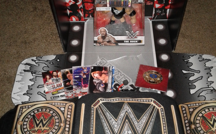 WWE Slam Crate Unboxing!