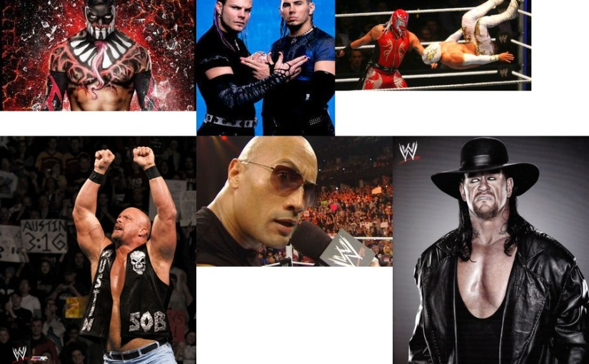 My Favorite Wrestlers of AllTime!