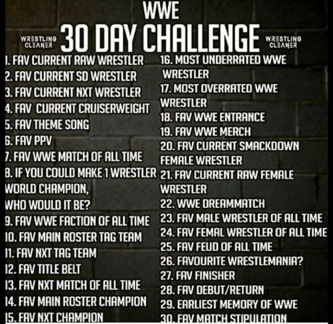 wwe challenge
