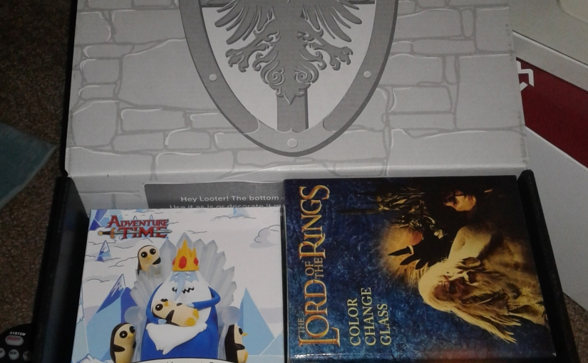 August Lootcrate Unboxing:Kingdoms!