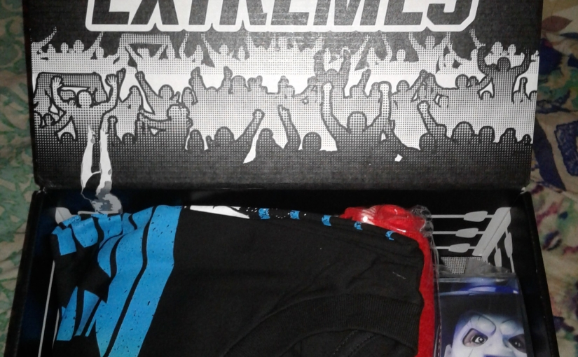WWE Slam Crate Unboxing: Extremes!