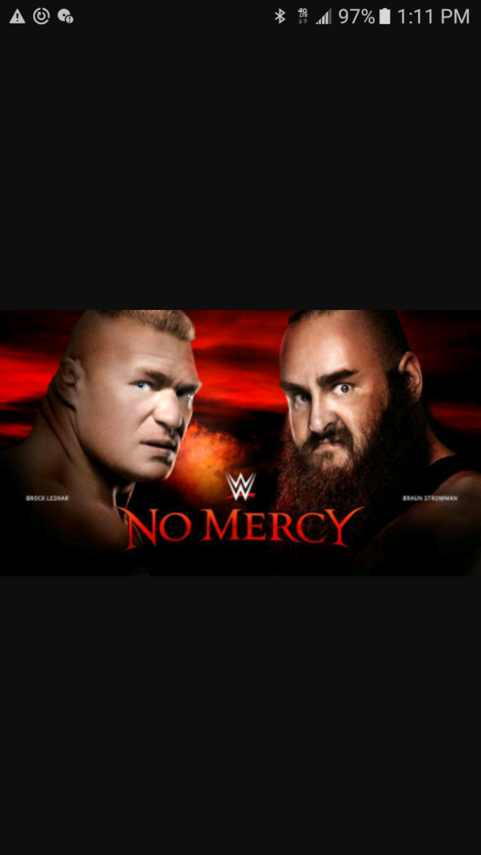 WWE No Mercy Results!