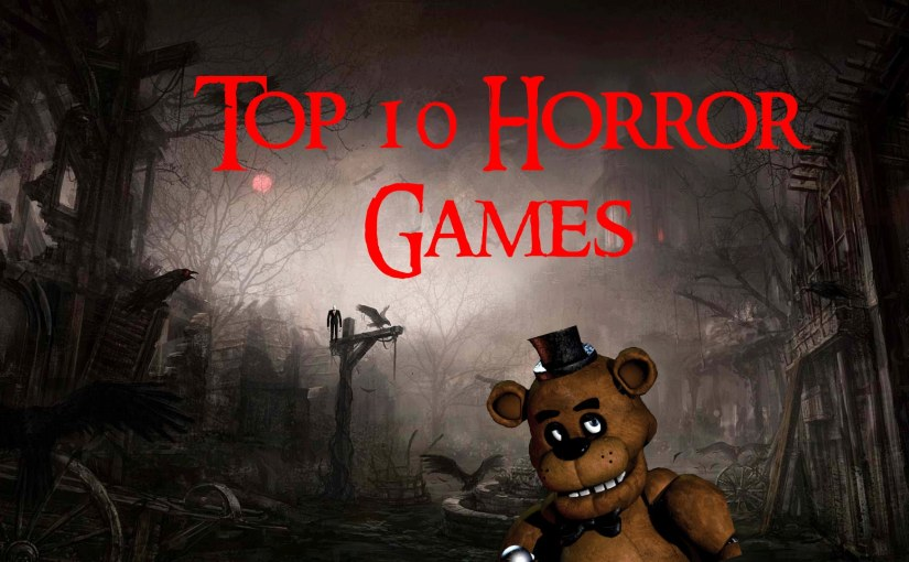 Luna's Rankings FT. Emily: Horror Games!