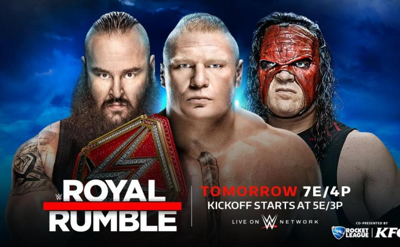Royal Rumble 2018 Results!