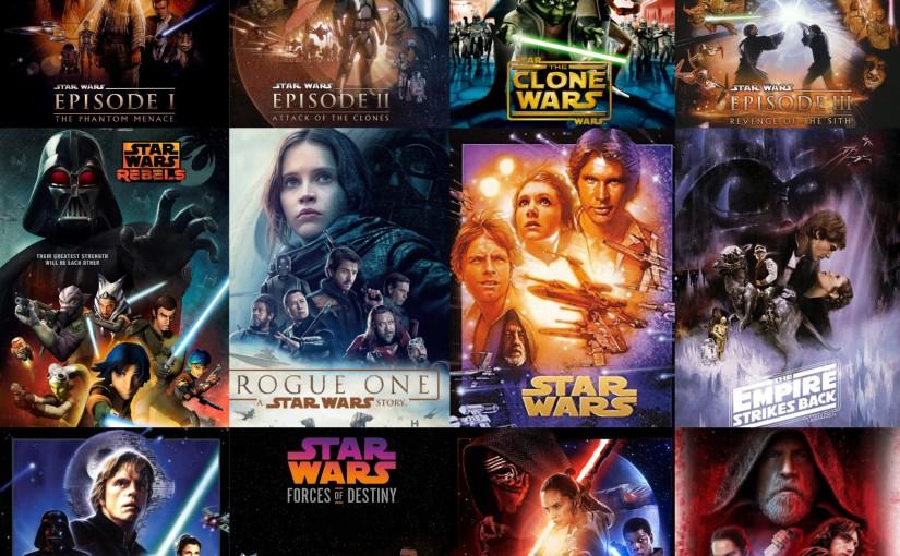 Luna's Rankings: Favorite Star WarsMovies!