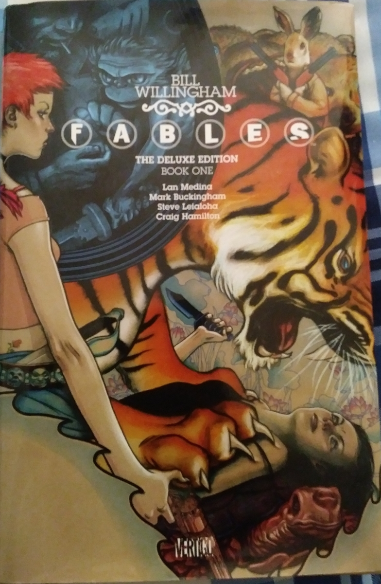 Fables The Deluxe Edition Book 1, Chapter 1 Comic Review!