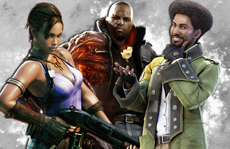 Evolution of Black Characters in Gaming!