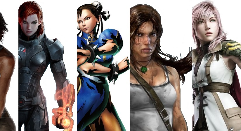 Luna's Rankings: Fierce, Fighting Video Game Females!