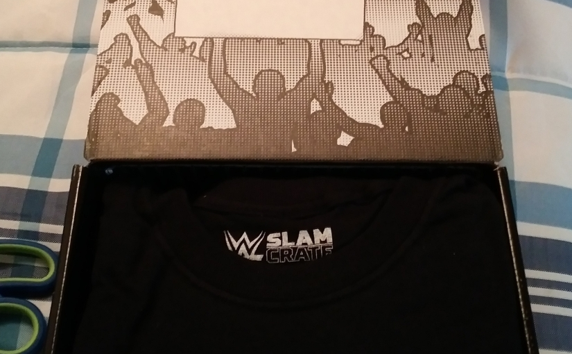 WWE Slam Crate March ( Late) Unboxing!