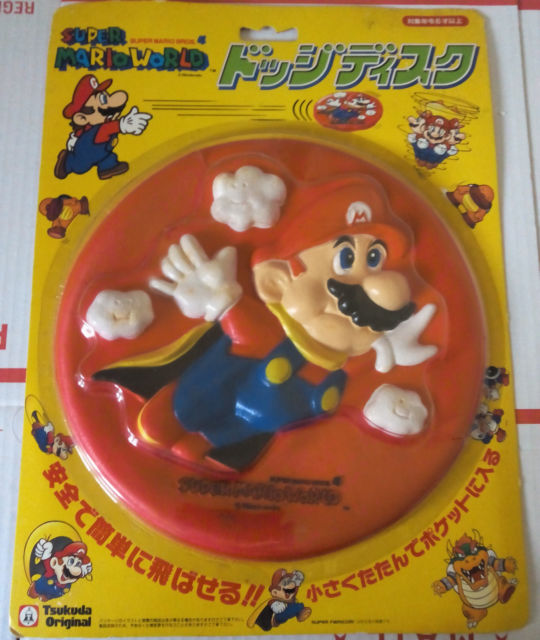mario frisbee